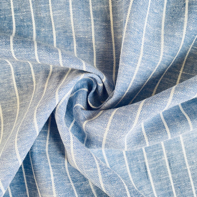 Summer Fresh Stripe Linen Viscose from Stitchy Bee