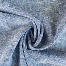 All the Blues Linen Viscose - sold by the half metre