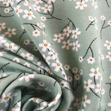 Minty Blossom Modal Jersey from Stitchy Bee