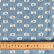 Happy Snappers Light Blue Chambray from Stitchy Bee