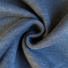 Super Soft Sweatshirt Fabric in Denim Blue from Stitchy Bee