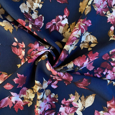 Autumnal Leaves Viscose from Stitchy Bee