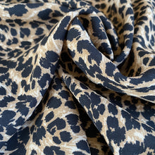 Luxe Leopard Georgette Crepe from Stitchy Bee