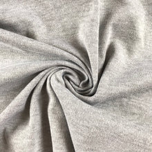 Grey Marl Interlock 100% Cotton Jersey from Stitchy Bee