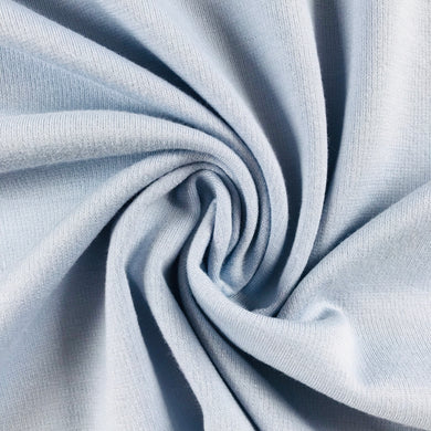 Baby Blue Ponte Roma with Viscose - 70cm Remnant