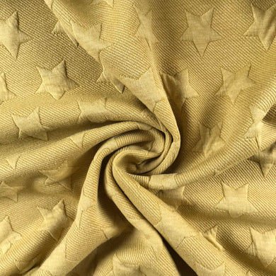 Gold Star Embossed Ponte Roma from Stitchy Bee