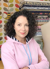 Rosy Cheek Fleece Lined Sweatshirt/Hoodie Fabric - sold by the half metre