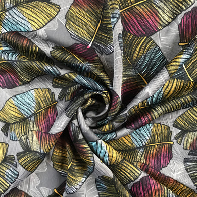 Tropical Leaf Micro Satin from Stitchy Bee