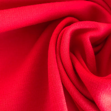 Luxe Red Ponte Roma with Viscose from Stitchy Bee