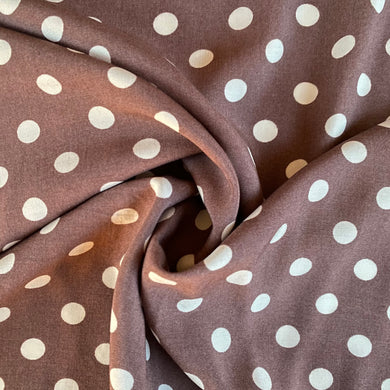 Pretty Taupe Viscose from Stitchy Bee