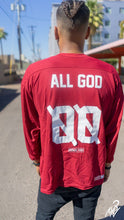 VINTAGE ALL GOD HOCKEY JERSEY