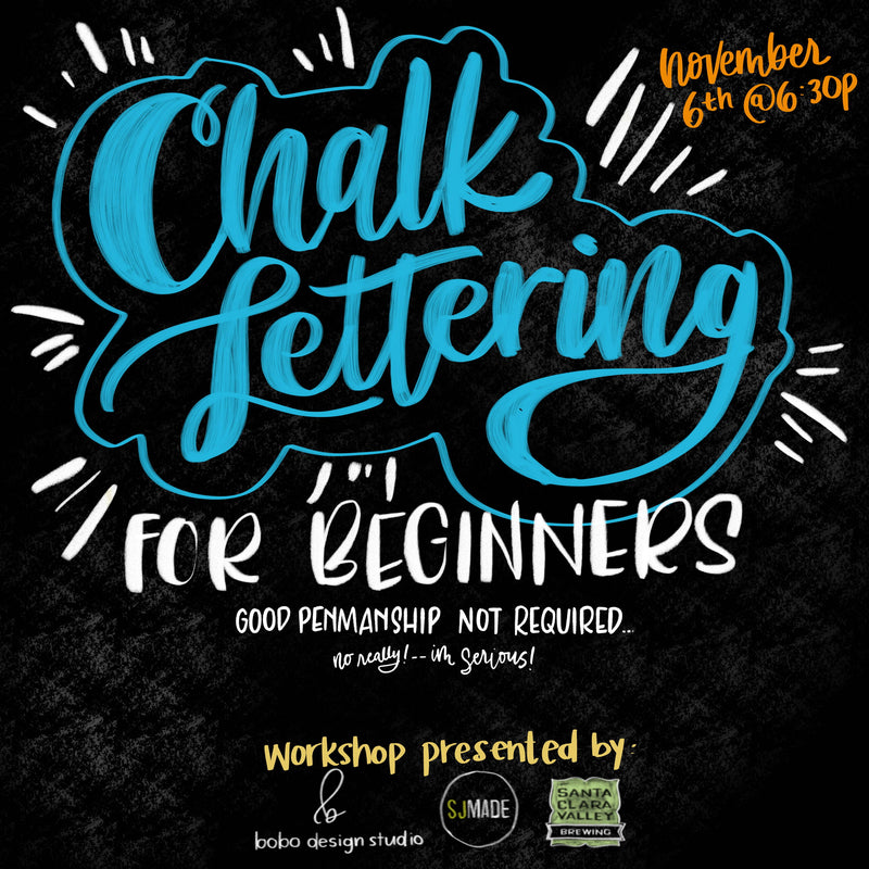 Chalk Lettering for Beginners Workshop is Live!
