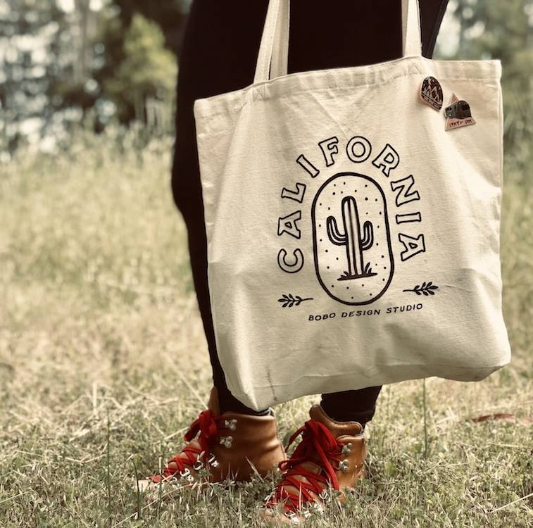 New Product Alert- bobo California Tote