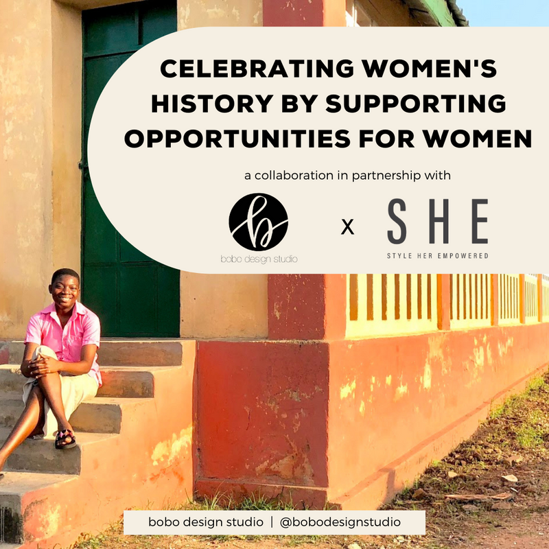 Celebrating Women's History by Supporting Opportunities for Women