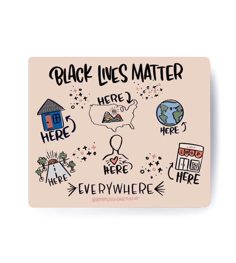 Black Lives Matter Bundle-5x7 Print