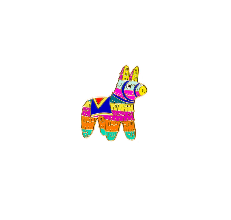 bobo design studio pinata pin on white background