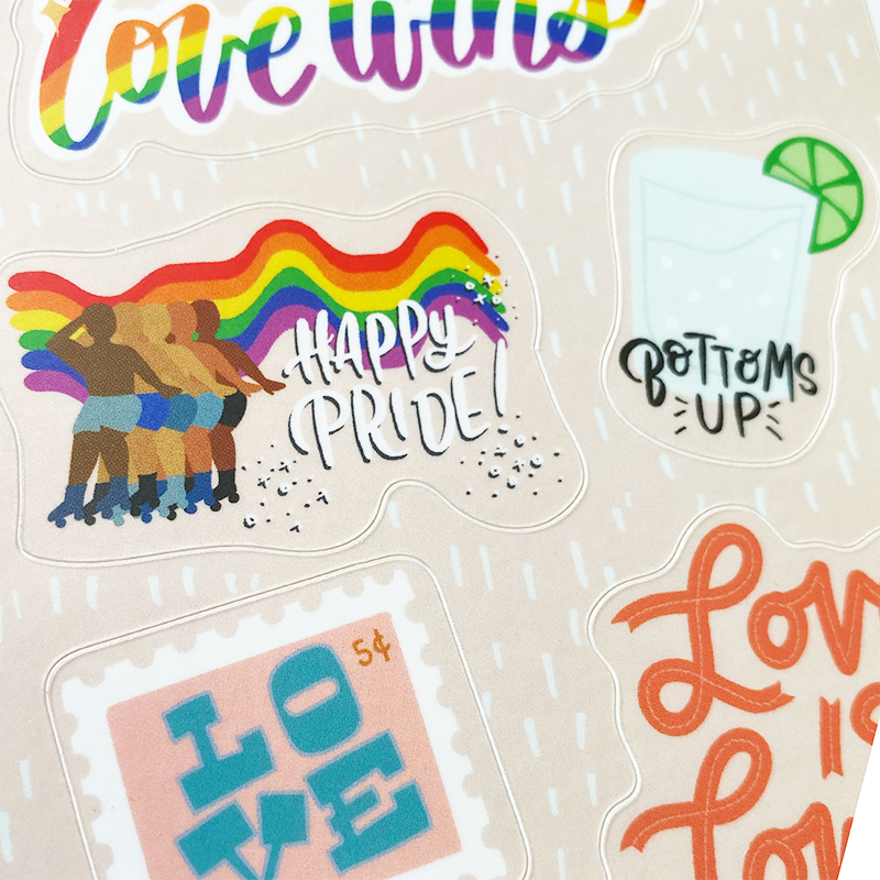 Pride Sticker Sheet- 4x6