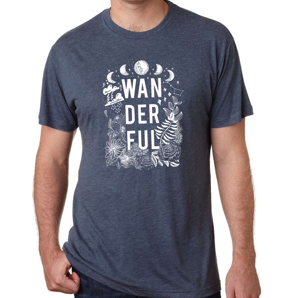 Wanderful Graphic Tee- Mens