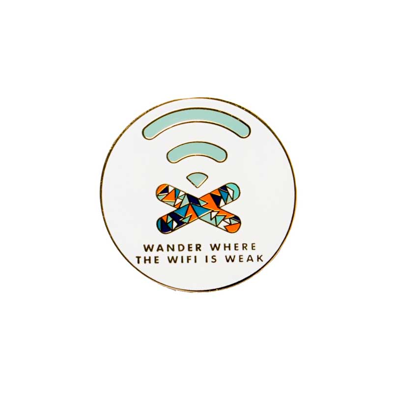 Wander Where the Wi-Fi Is Weak Badge
