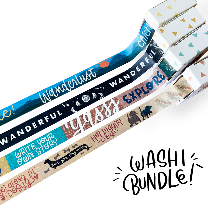 Washi Tape ULTIMATE Bundle
