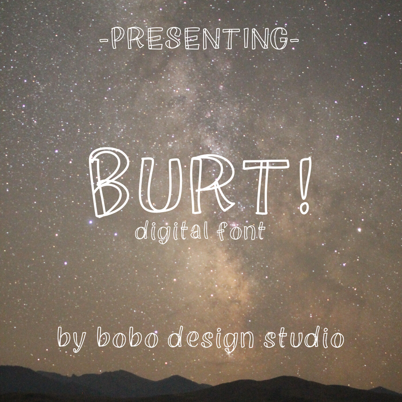 bobo Digital Font - Harrie