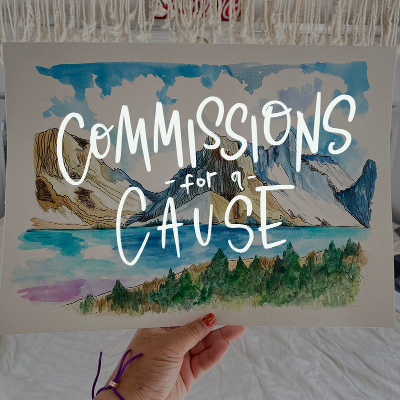 Commissions for a Cause