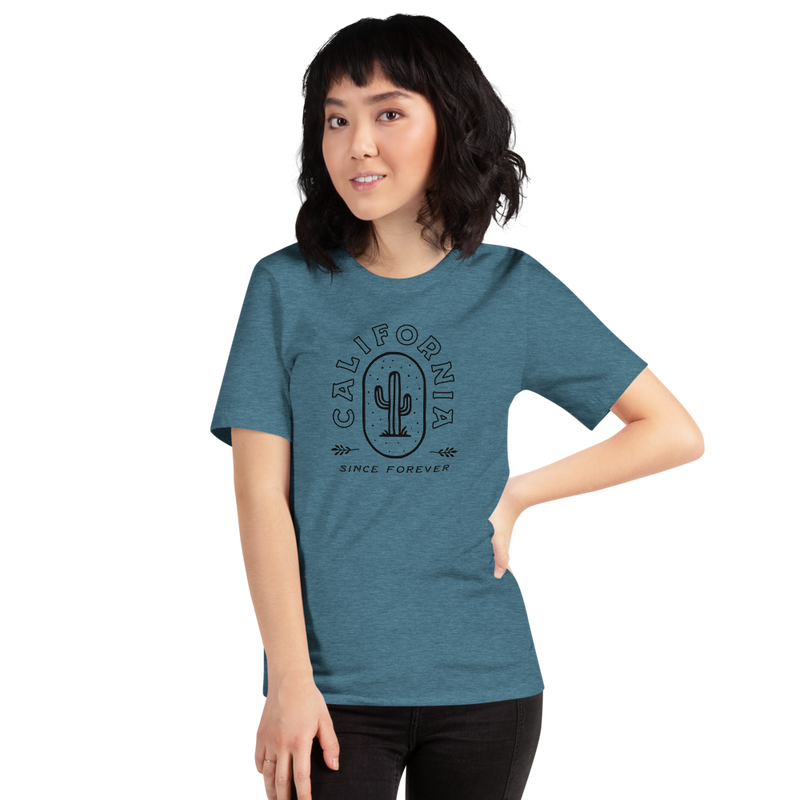 California Cactus Short-Sleeve Unisex T-Shirt