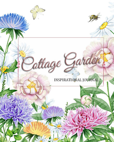 Cottage Garden inspirational journal