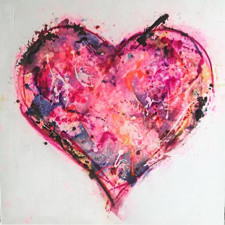 Beauty of the Heart | Original Artwork on canvas