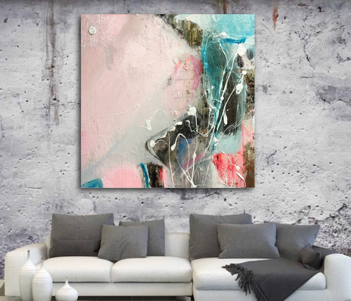 Off The Coast of Sicily | Original Artwork on Canvas