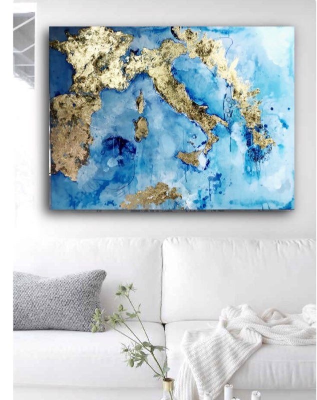 A Piece of Europe |  Original Artwork on Canvas