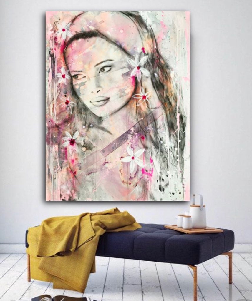 Island Princess | Original Artwork on Canvas