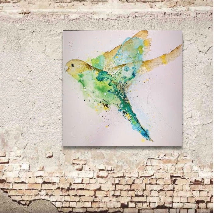 Fly. Original artwork on canvas