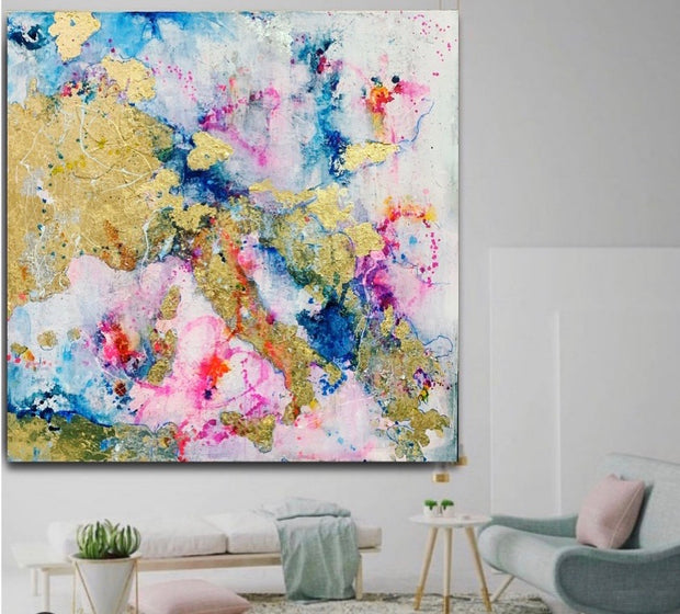 MEDITERRANEAN LOVE. Original artwork on canvas