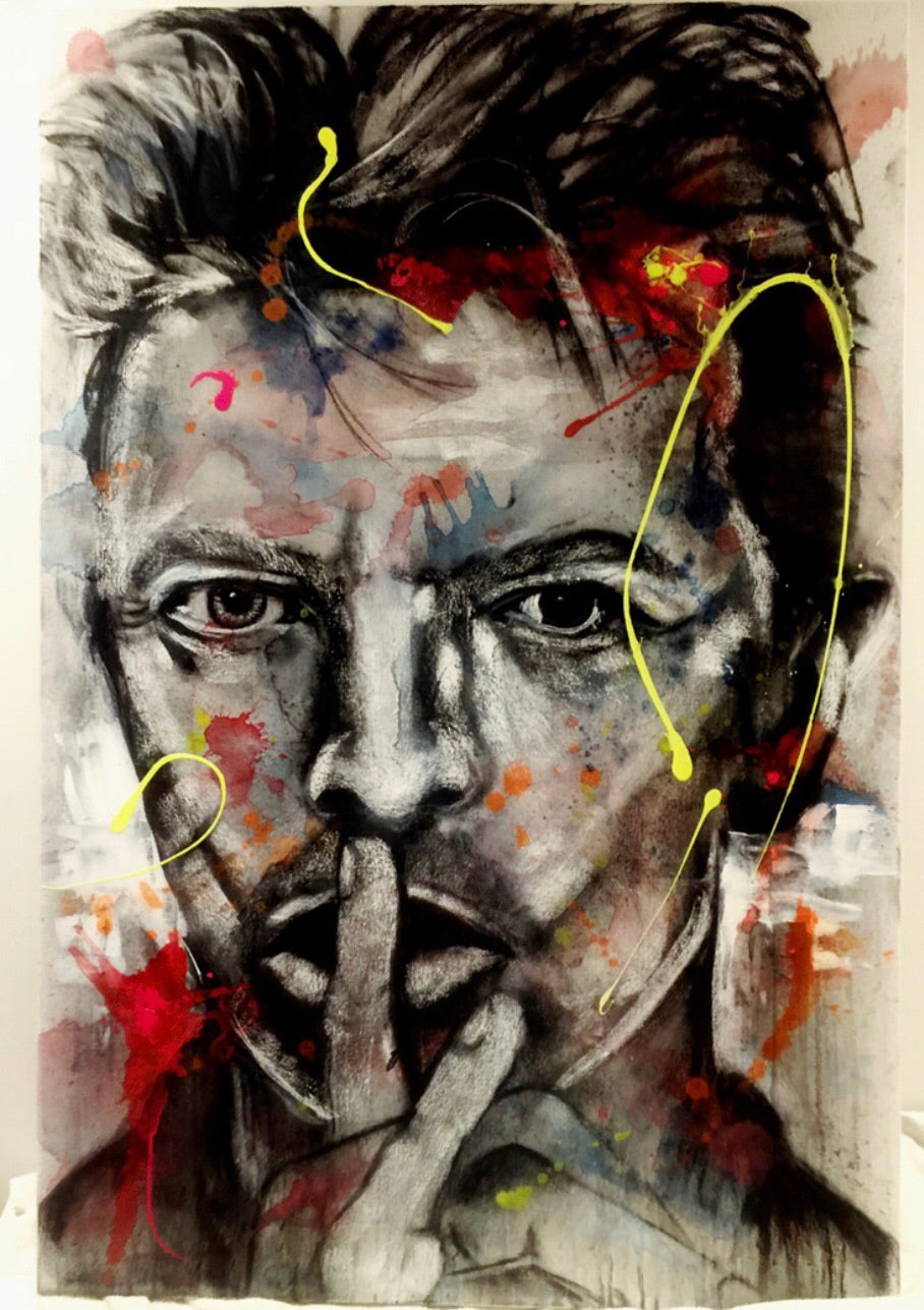Bowie | Original Artwork on Canvas
