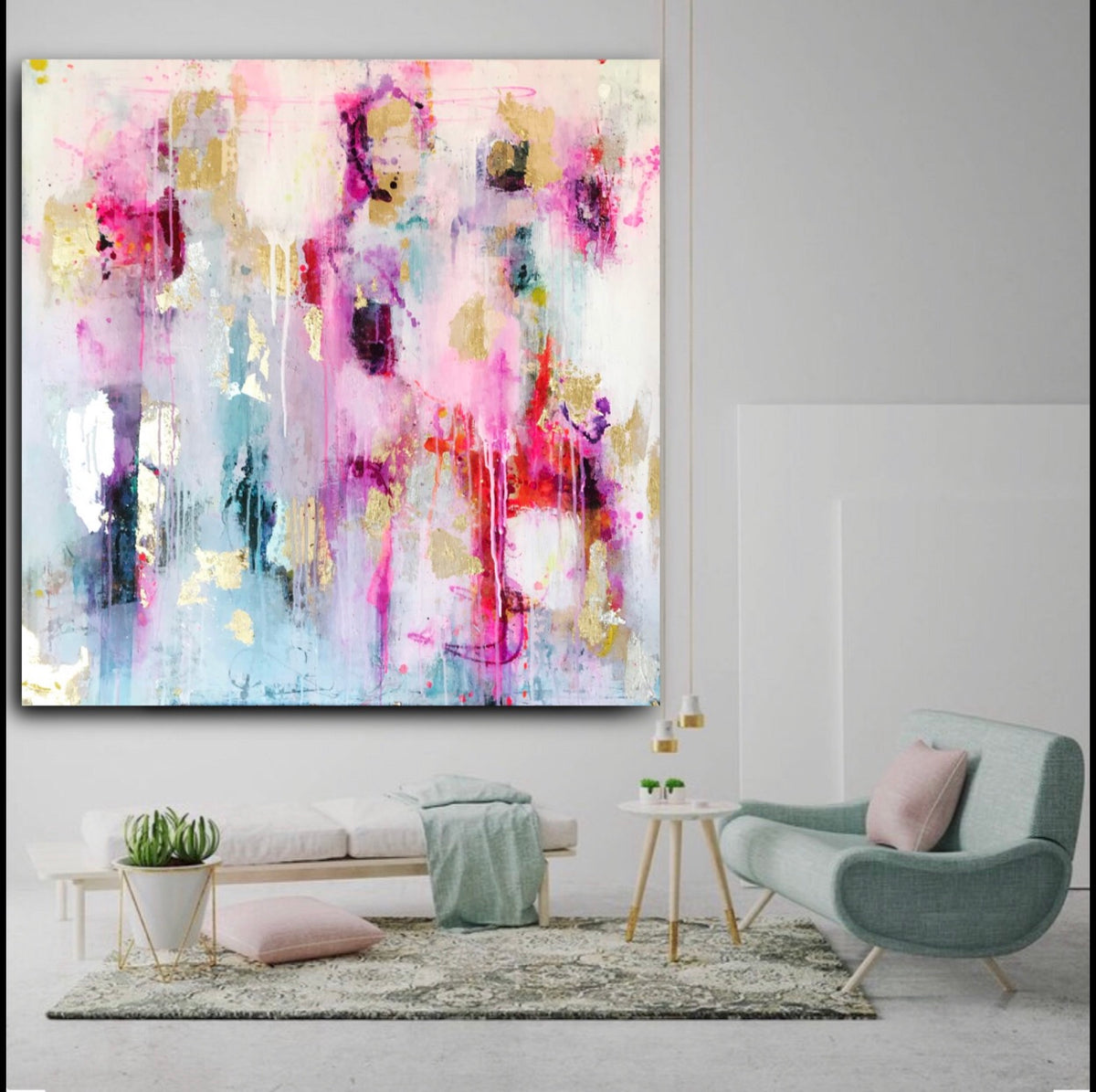 Dreaming With You | Original Artwork on Canvas