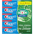 Crest Complete Whitening + Scope Toothpaste 7.3 oz./206g DLC: FEV/2022