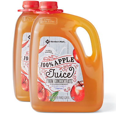 Member's Mark 100% Apple Juice 3.78L 1pk.