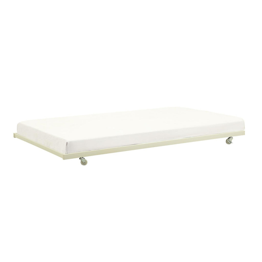 Gavin Universal Metal Trundle for Daybeds White -