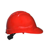 Electrician Safety Helmet Red
