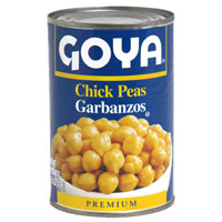 Goya Chick Peas Garbanzos 15.5oz/439g 27/FEB/24