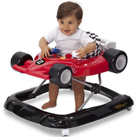 Delta Children Deluxe Lil' Drive Infant Baby Activity Center Walker, Top Speed