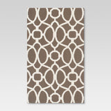 5'x7' Outdoor Rug - Taupe Trellis - Threshold™