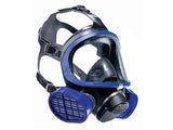 Drager Full Face Gaz Mask With Single Filter 5500 (Masque à gaz intégral avec filtre simple 5500 Drager)