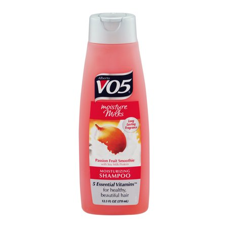 Alberto V05 Moisture Milks Passion Fruit Smoothie Moisturizing Shampoo, 12.5 fl