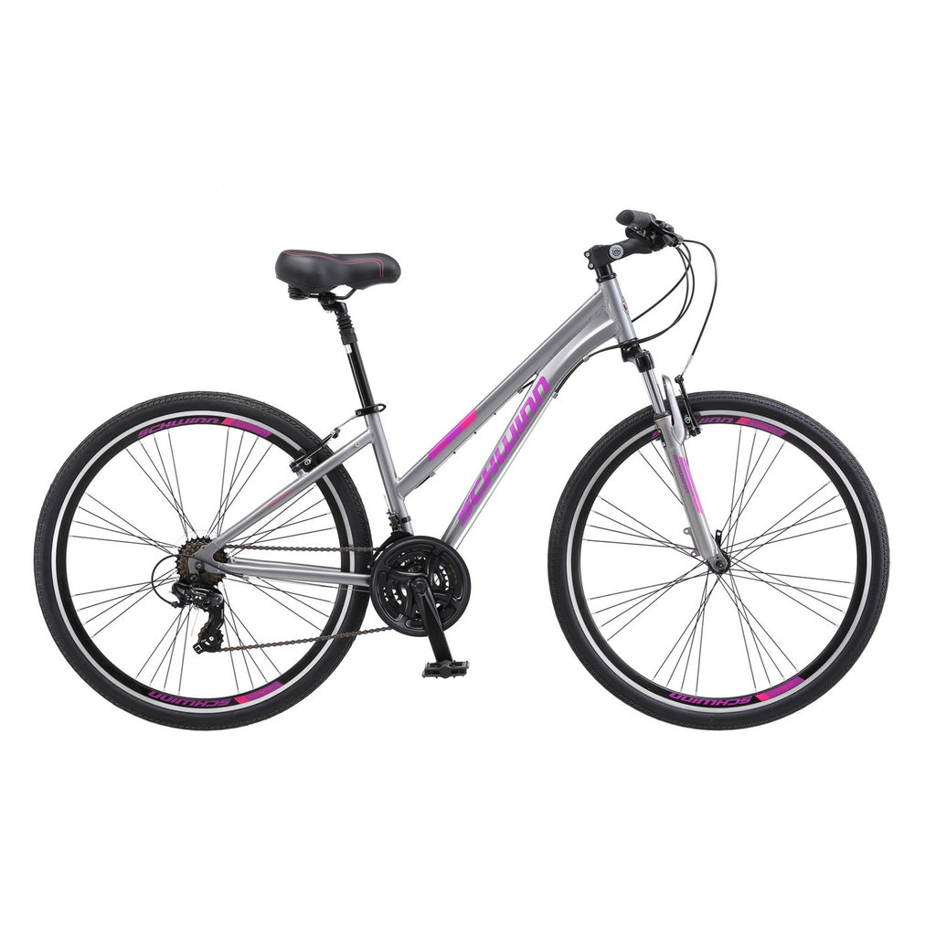 Schwinn Hybrid Bike Women's Trailway - Gray 28""