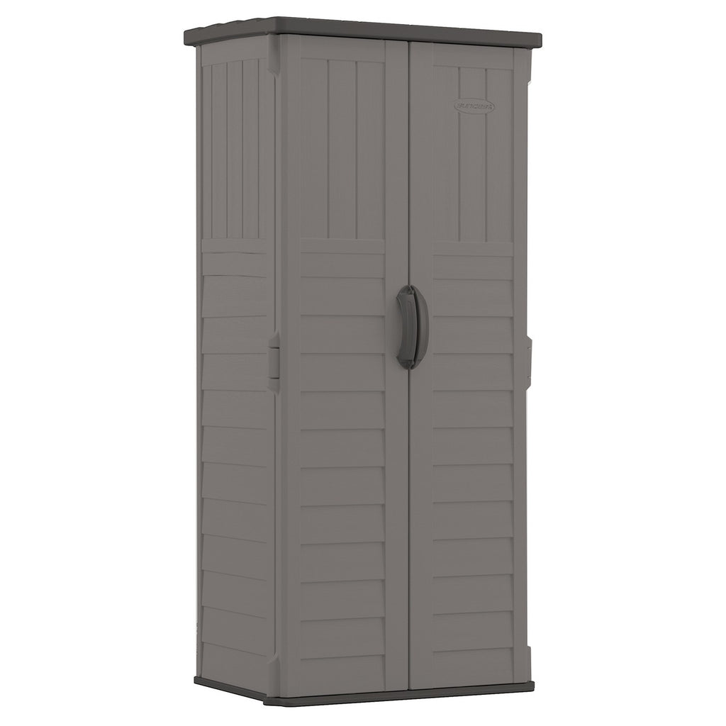 Vertical Storage Shed - Gray - Suncast