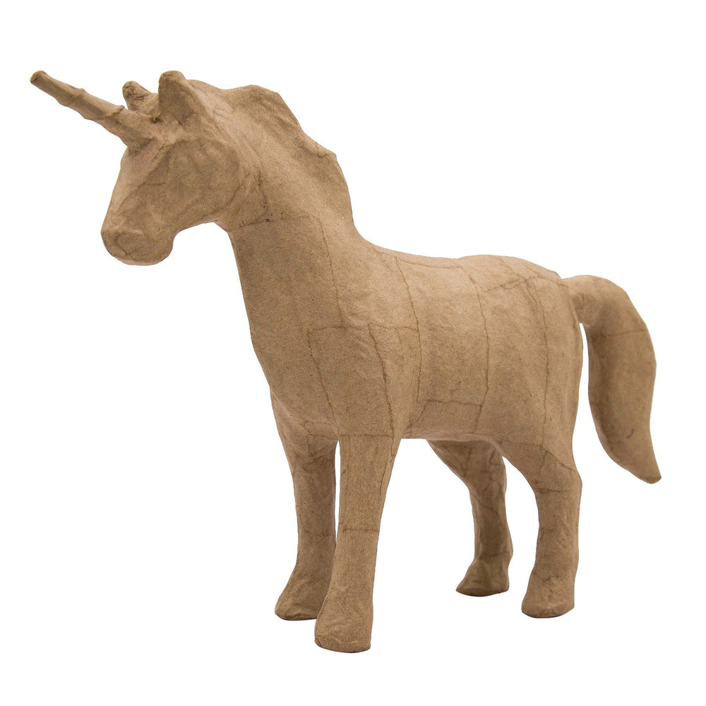 Kid Made ModernA  Unicorn Figurine - Kraft