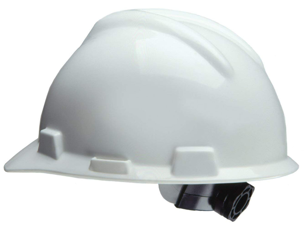 Safety Helmet with ratchet (White)