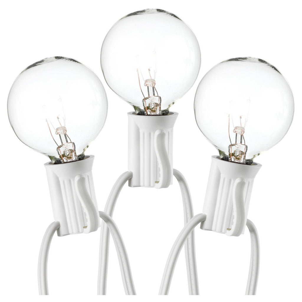 20Ct Globe Lights with White Wire - Room Essentials™